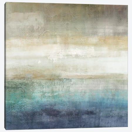 Mountain Lake Canvas Print #NAN428} by Nan Canvas Artwork