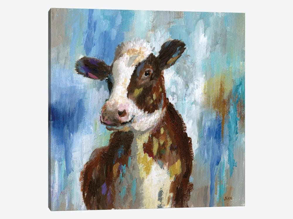 Spring Calf by Nan 1-piece Canvas Artwork