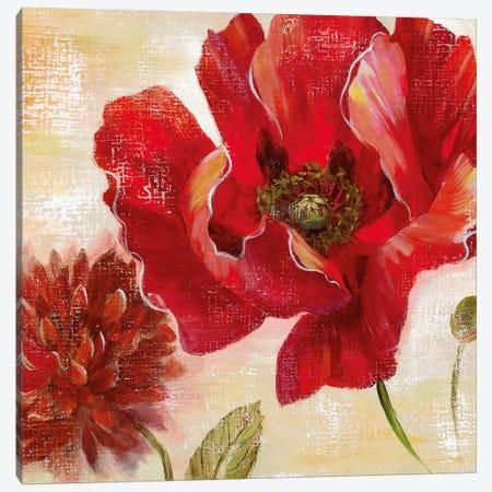 Passion for Poppies II Canvas Print #NAN435} by Nan Canvas Art