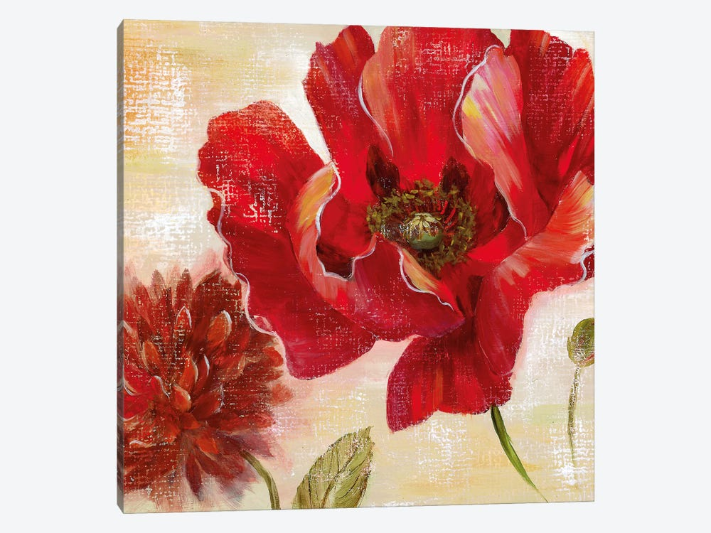 Passion for Poppies II by Nan 1-piece Art Print