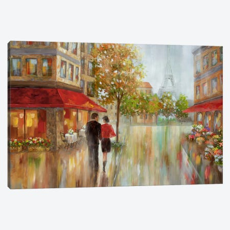 Romantic Promenade II Canvas Print #NAN444} by Nan Art Print
