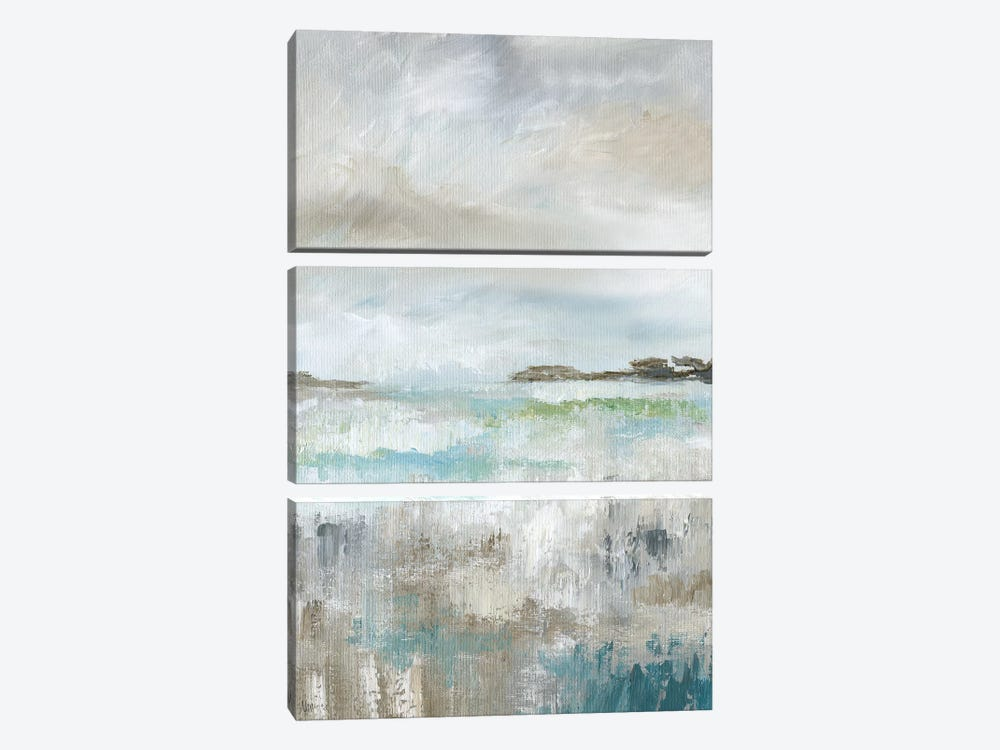 Soft Vista I by Nan 3-piece Canvas Artwork