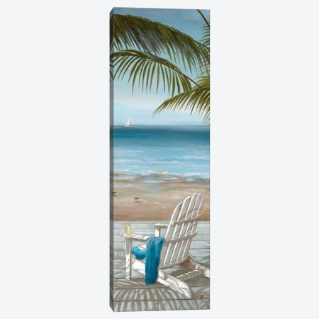 Walk on the Beach II 3-Piece Canvas #NAN469} by Nan Canvas Wall Art