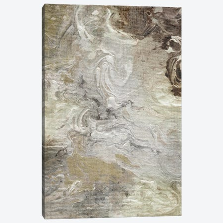 Marbled Linen Canvas Print #NAN46} by Nan Canvas Wall Art