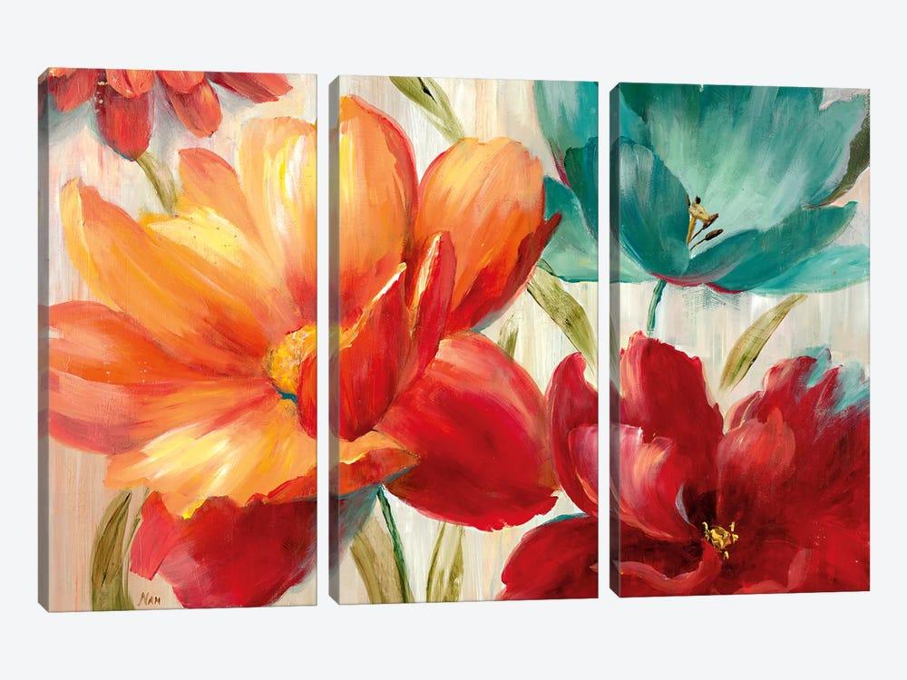 Avalon Garden by Nan 3-piece Art Print