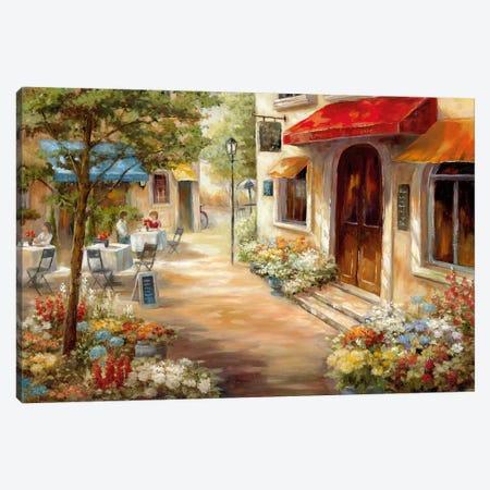 Café Afternoon III Canvas Print #NAN478} by Nan Canvas Print
