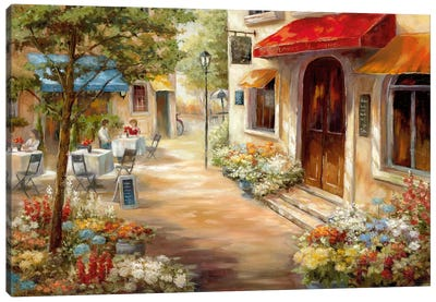 Café Afternoon III Canvas Art Print