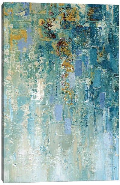 I Love the Rain Detail I Canvas Art Print