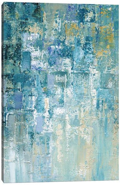 I Love the Rain Detail II Canvas Art Print