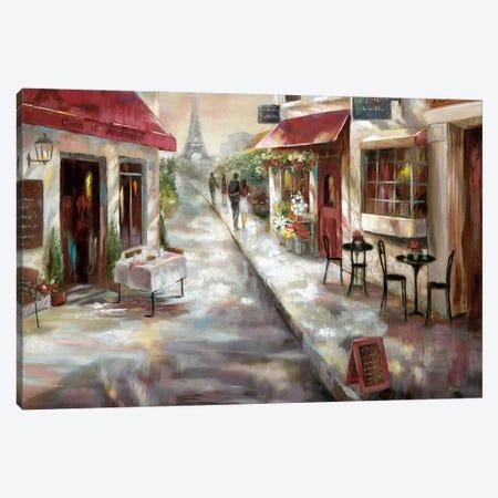 Parisian Café Canvas Print #NAN486} by Nan Canvas Print