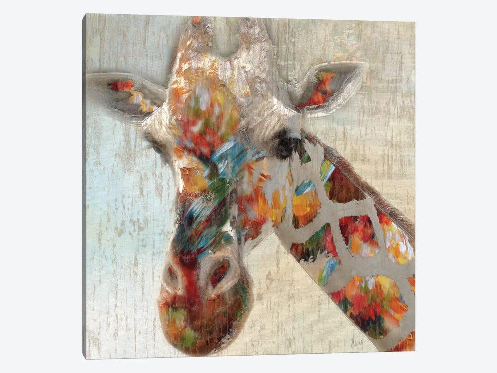 Paint Splash Giraffe by Nan 1-piece Canvas Art