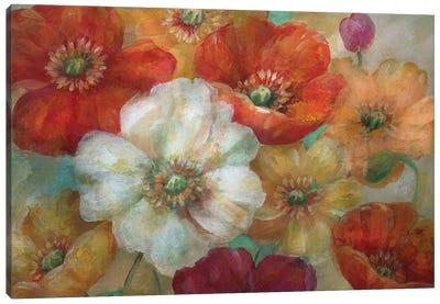 Poppycentric Canvas Art Print