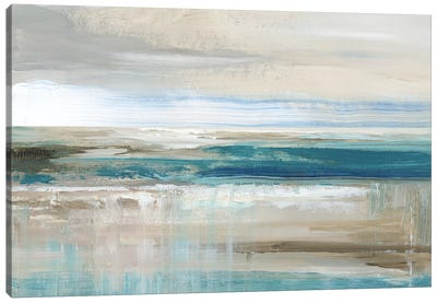 Abstract Sea Canvas Art Print
