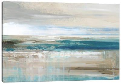 Abstract Sea Canvas Art Print