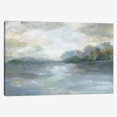 Blue Ethereal Canvas Print #NAN501} by Nan Canvas Art Print