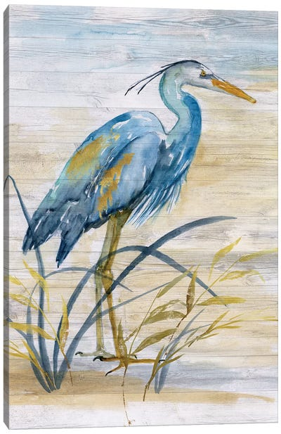 Blue Heron I Canvas Art Print