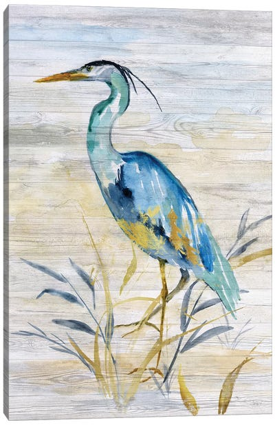 Blue Heron II Canvas Art Print
