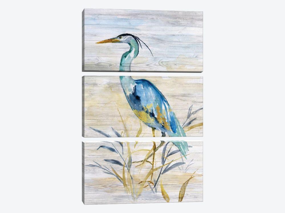 Blue Heron II by Nan 3-piece Canvas Art Print