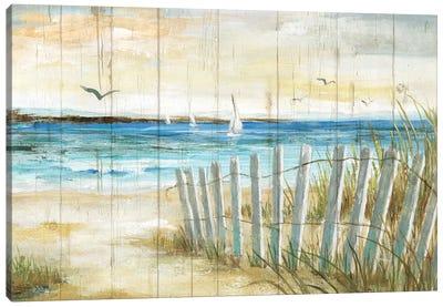 Coastal Causeway Canvas Art Print