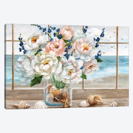 Coastal Window Canvas Print #NAN507} by Nan Canvas Wall Art