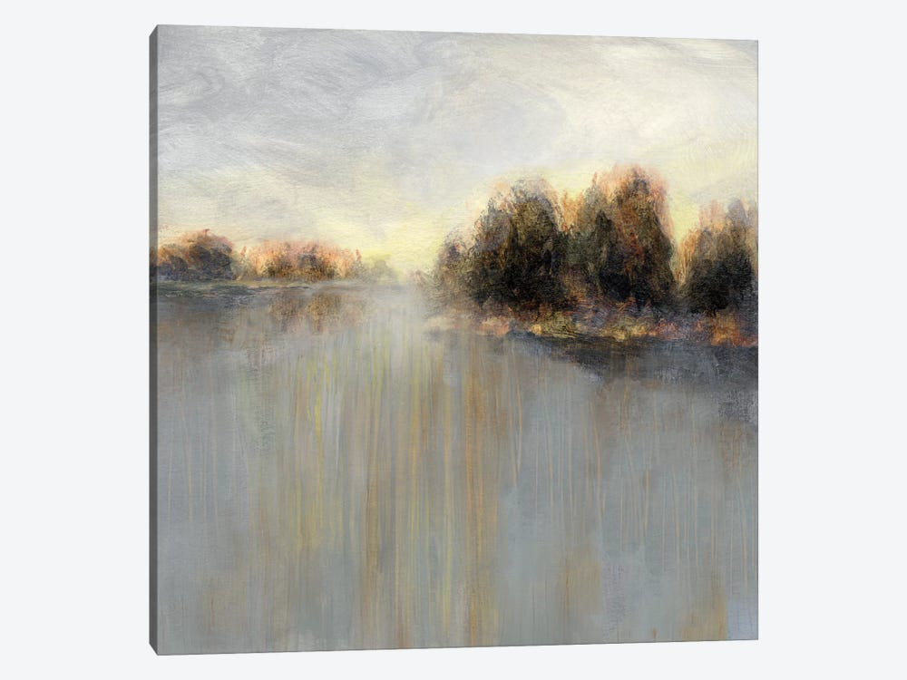 Rainy Sunset II by Nan 1-piece Canvas Artwork