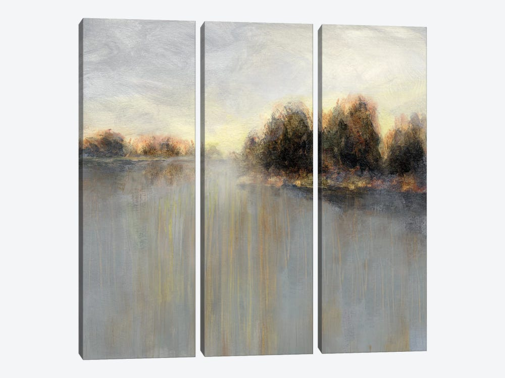Rainy Sunset II by Nan 3-piece Canvas Wall Art