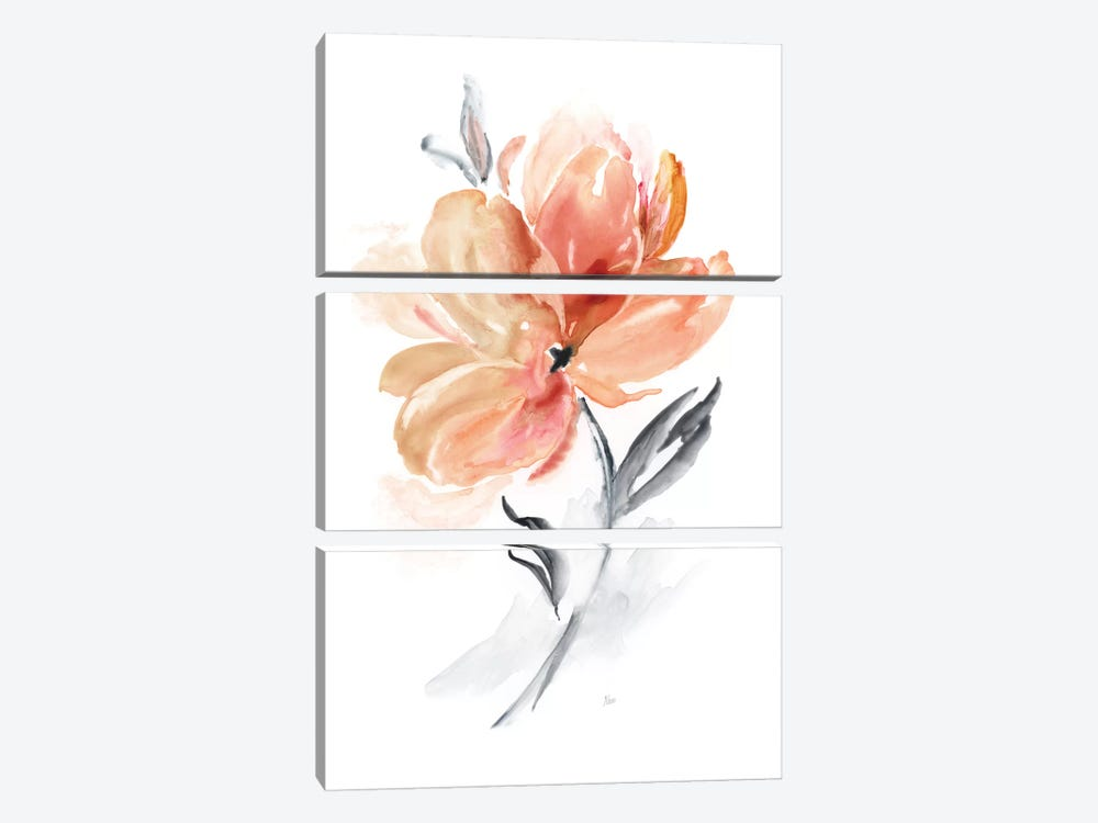 Soft Sensation II 3-piece Canvas Art Print