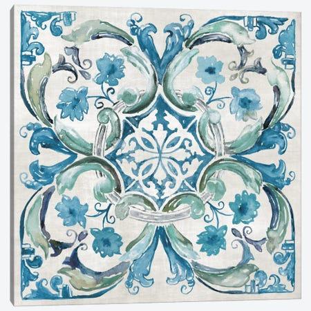 Caribbean Tile I Canvas Print #NAN52} by Nan Canvas Wall Art