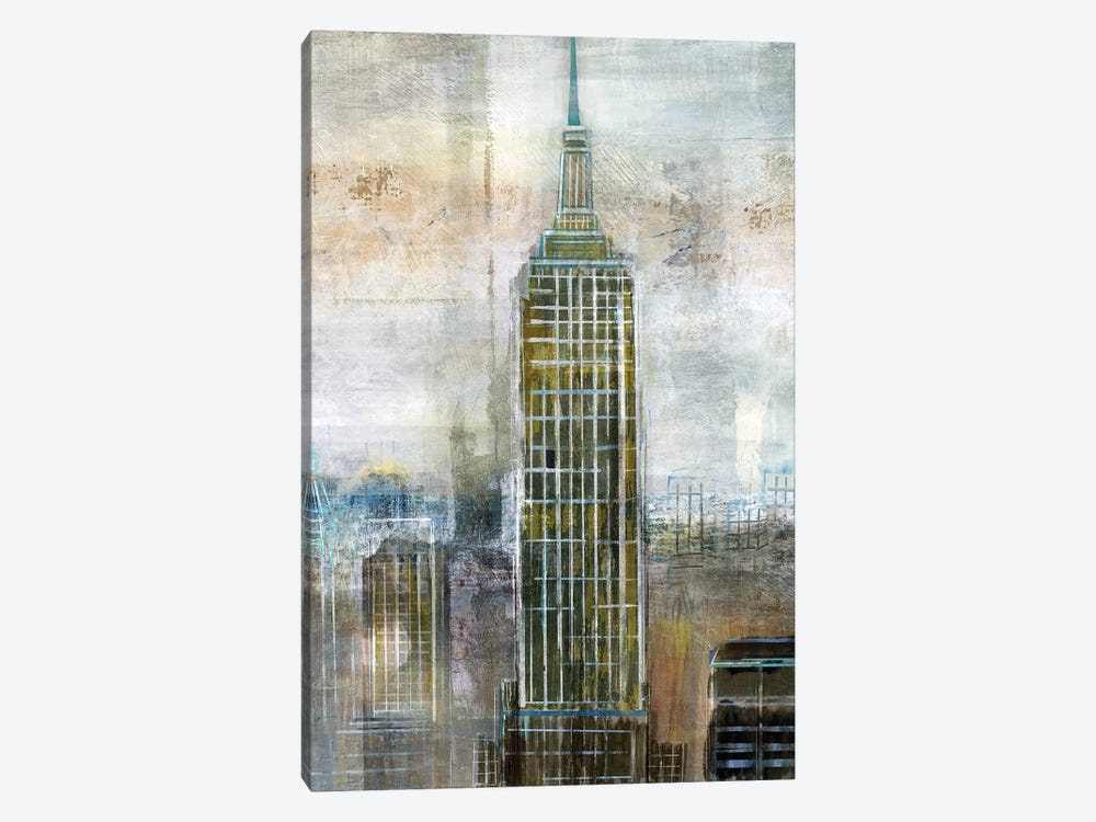 City Contrast by Nan 1-piece Canvas Print