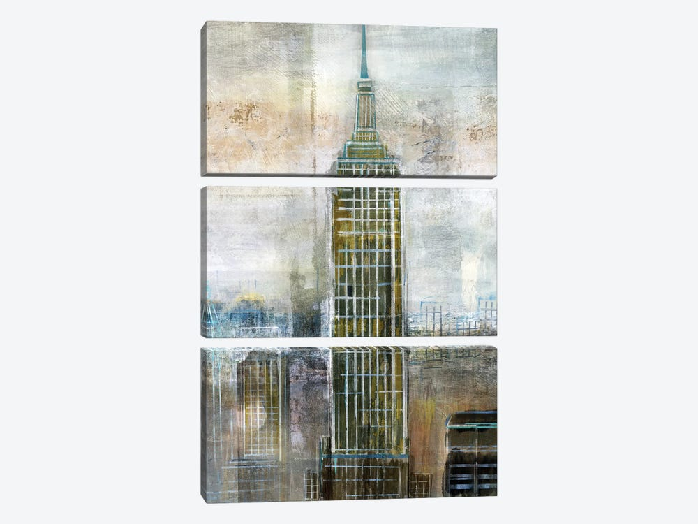 City Contrast by Nan 3-piece Canvas Print
