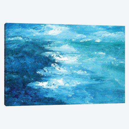Crashing Waves I 3-Piece Canvas #NAN539} by Nan Canvas Artwork