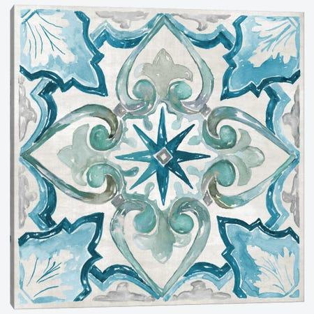 Caribbean Tile II Canvas Print #NAN53} by Nan Canvas Artwork