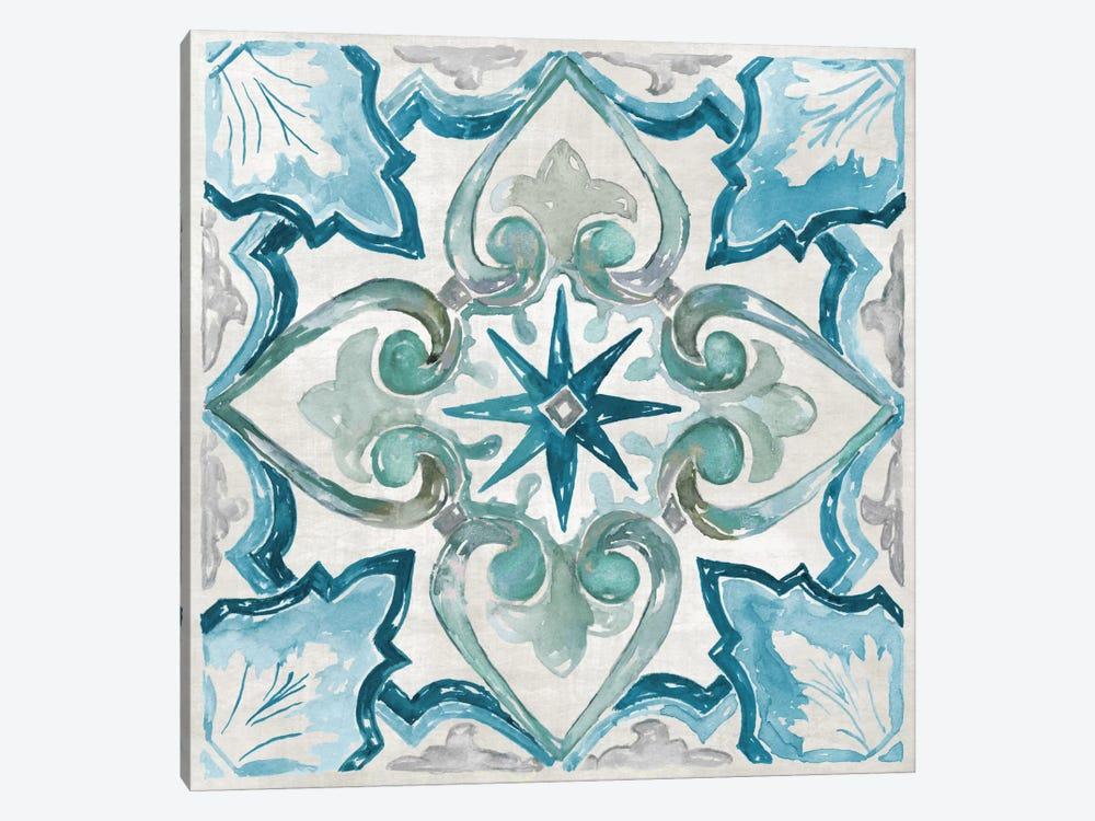 Caribbean Tile II by Nan 1-piece Canvas Art