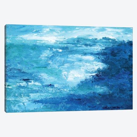 Crashing Waves II 3-Piece Canvas #NAN540} by Nan Canvas Print