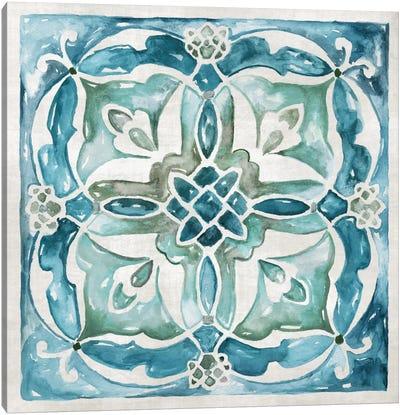 Caribbean Tile III Canvas Art Print