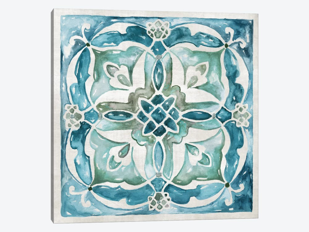 Caribbean Tile III by Nan 1-piece Art Print