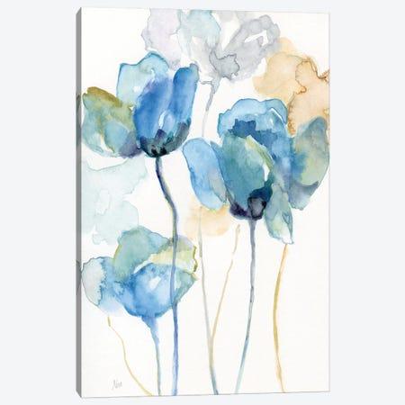 Wildflower Blues I Canvas Print #NAN556} by Nan Canvas Print