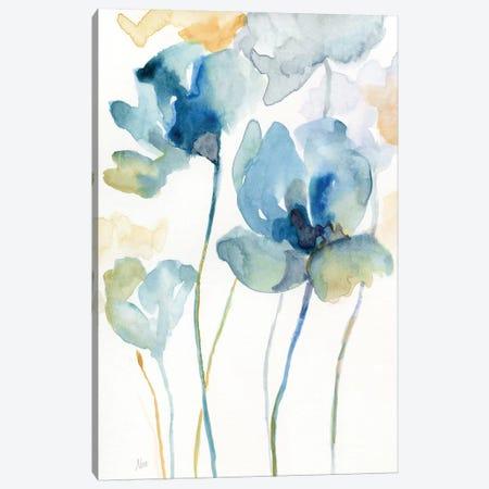 Wildflower Blues II Canvas Print #NAN557} by Nan Canvas Art Print