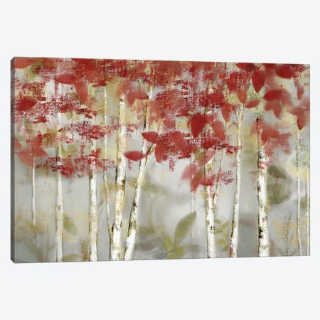 Autumn Forest 3-Piece Canvas #NAN559} by Nan Canvas Art