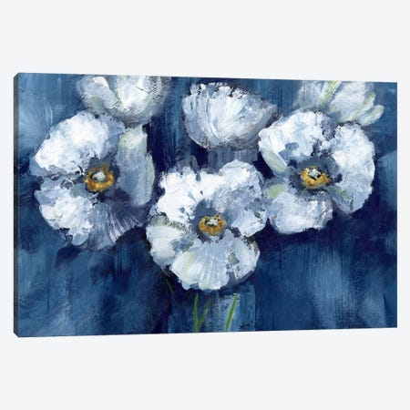 Blooming Poppies Canvas Print #NAN55} by Nan Canvas Art Print