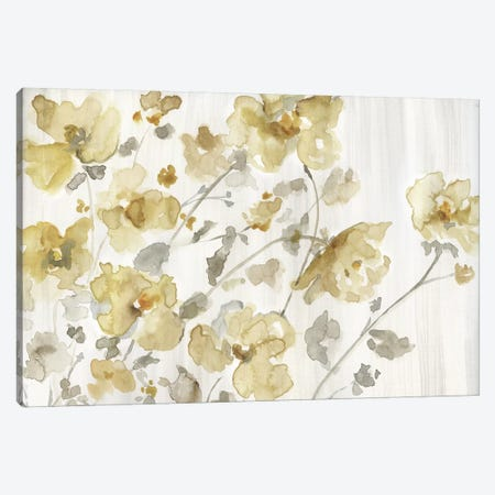 Blooming Neutral Canvas Print #NAN561} by Nan Art Print