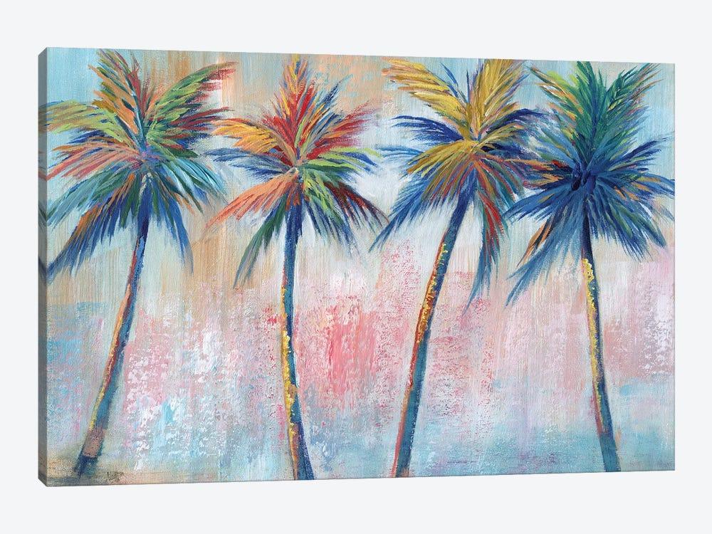 Color Pop Palms by Nan 1-piece Canvas Print