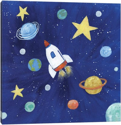 Outer Space Canvas Art Print