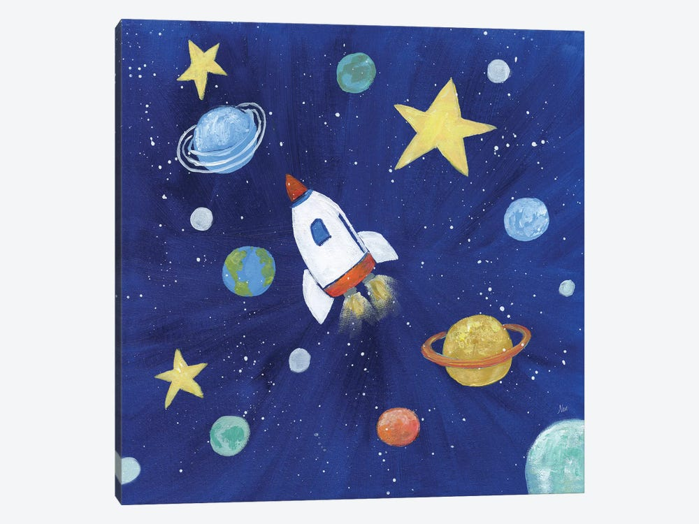 Outer Space by Nan 1-piece Canvas Print