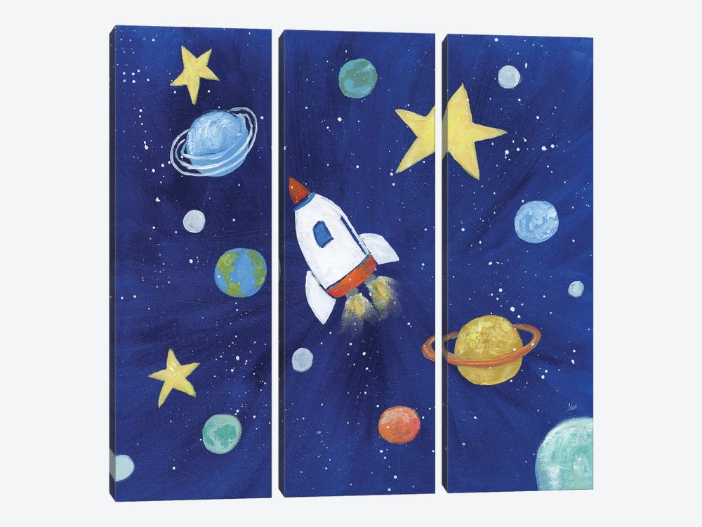 Outer Space by Nan 3-piece Art Print