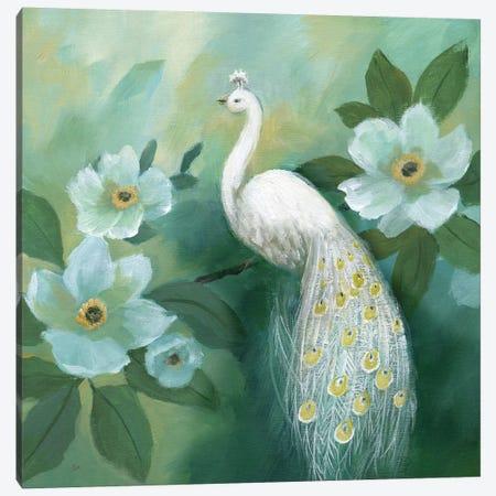 Proud Peacock Canvas Print #NAN570} by Nan Canvas Wall Art