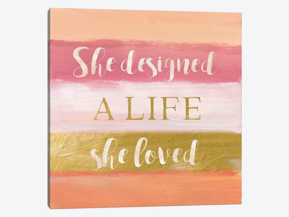 She Designed by Nan 1-piece Canvas Print