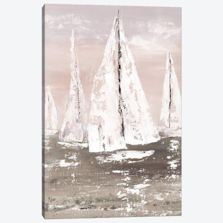 Soft Sailing Canvas Print #NAN578} by Nan Canvas Artwork