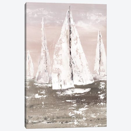 Soft Sailing Canvas Print #NAN578} by Nan Canvas Artwork