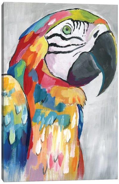Vibrant Parrot Canvas Art Print
